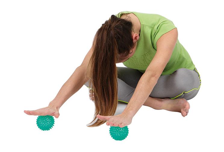 varpos ir kamuoliukų masažas